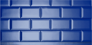 PANESPOL Tiles imitation panels Metro Blue