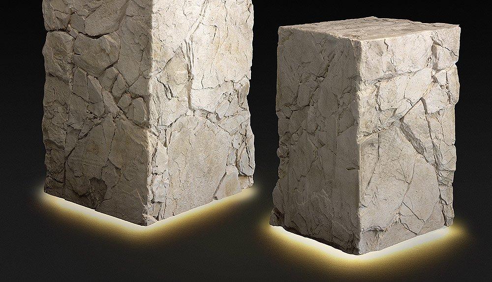 Peanas con Leds efecto piedra decorativa|lab_principal|balon|mancuerna|Pedrusco|tapiz_musgo|bloque-hormigon-01|bloque-hormigon-02|bloque-hormigon-03|sin-titulo-1|bloques-led