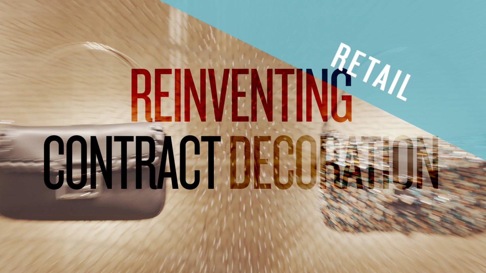 Los diseñadores pueden reinventar la decoración de interiores en el sector RETAIL