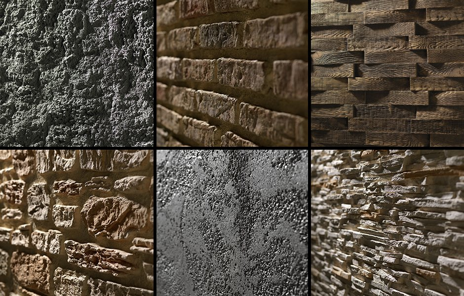 TEXTURES: Materials that tell a story