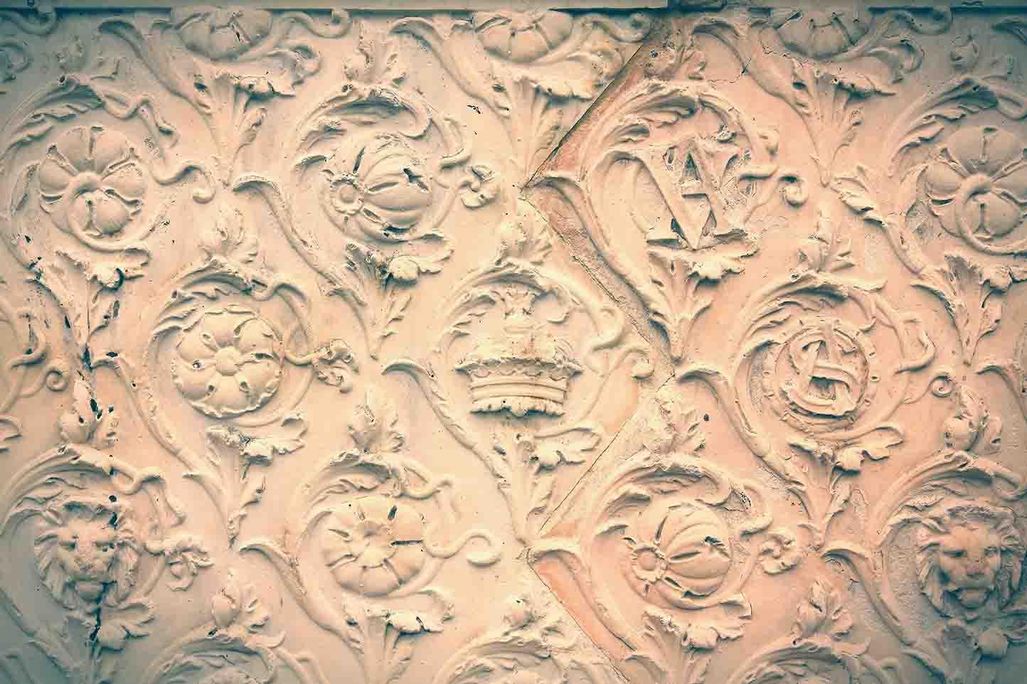 Texturizados de superfícies. Moda Vintage