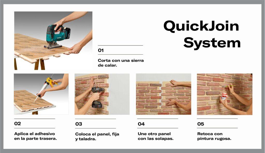 Explicaciones de montaje de QuickJoin System